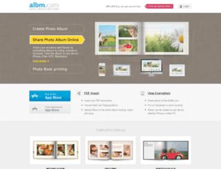 albm.com screenshot