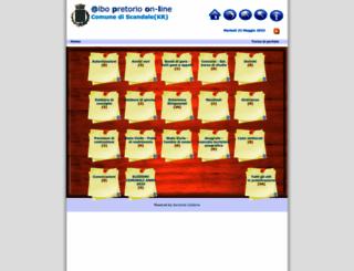 alboscandale.asmenet.it screenshot