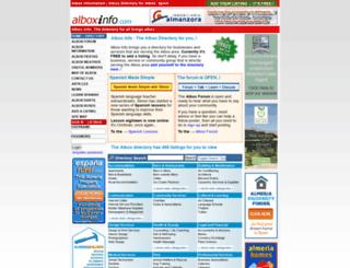 alboxinfo.com screenshot
