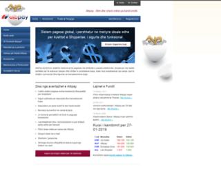 albpay.com screenshot