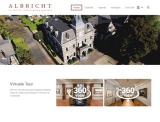 albricht.nl screenshot