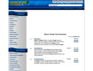 album-design-psd.sharewarecentral.com screenshot