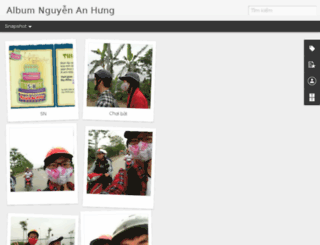 album.nguyenanhung.com screenshot