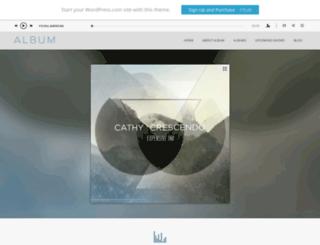 albumdemo.wordpress.com screenshot