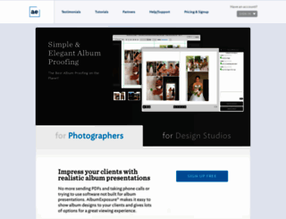 albumexposure.com screenshot