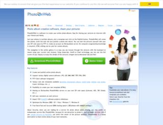 albums.photoonweb.com screenshot