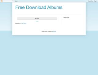 albumsfree.blogspot.com screenshot