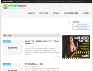 albumzip.mp3audiomusics.com screenshot
