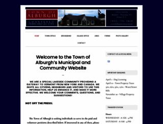 alburghvt.org screenshot