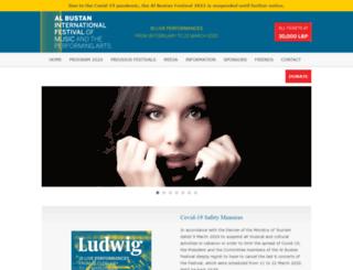 albustanfestival.com screenshot