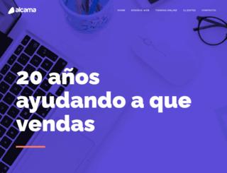alcama.com.ar screenshot