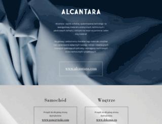 alcantara.pl screenshot