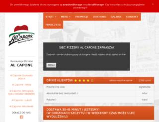 alcapone-poznan.pl screenshot