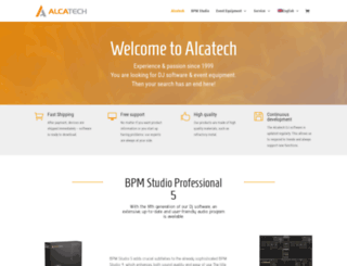 alcatech.com screenshot