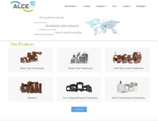 alce-elektrik.com.tr screenshot