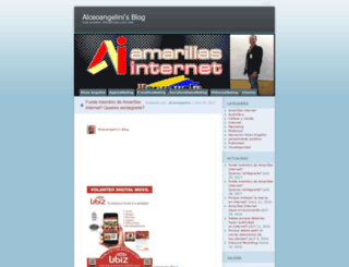 alceoangelini.wordpress.com screenshot