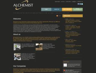 alchemist.co.in screenshot