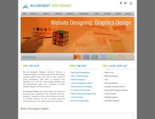 alchemistsoftwares.com screenshot