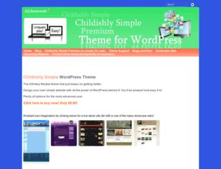 alchemweb.co.uk screenshot