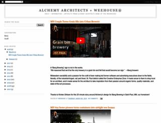 alchemyarch.blogspot.com screenshot
