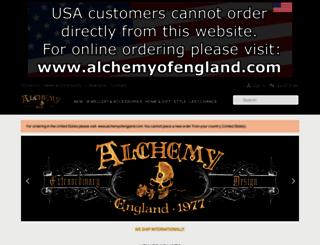 alchemyengland.com screenshot