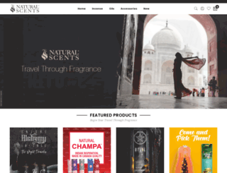 alchemyincense.com screenshot