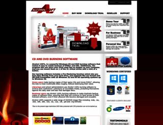 alcohol-soft.com screenshot