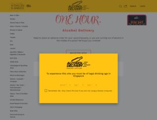 alcoholdelivery.com.sg screenshot