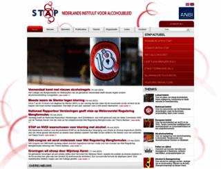 alcoholpreventie.nl screenshot