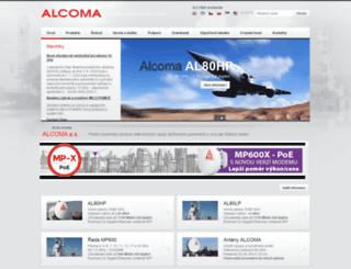 alcoma.eu screenshot