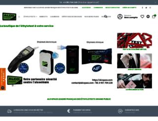 alcopass.com screenshot