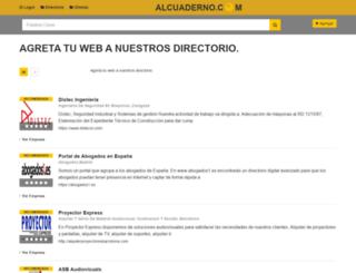 alcuaderno.com screenshot
