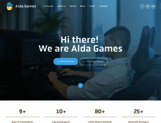 aldagames.com screenshot