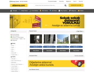 aldanma.com screenshot