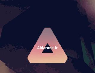 aldarone.fr screenshot