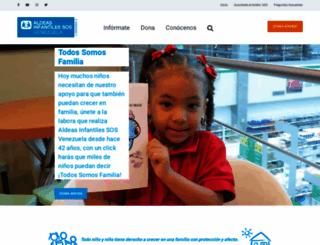 aldeasinfantiles.org.ve screenshot