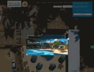 aldeiadomar.com screenshot