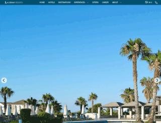 aldemarhotels.com screenshot