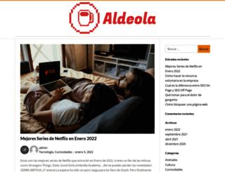 aldeola.es screenshot