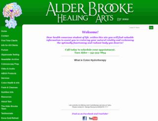 alderbrooke.com screenshot