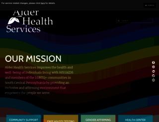 alderhealth.org screenshot