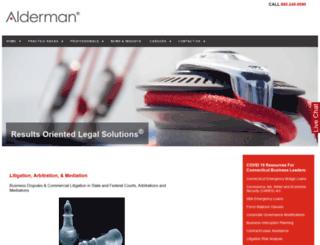 alderman.com screenshot