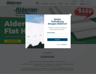 alderon.co.id screenshot