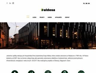 aldesa.pl screenshot