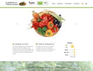 aldetrans.es screenshot