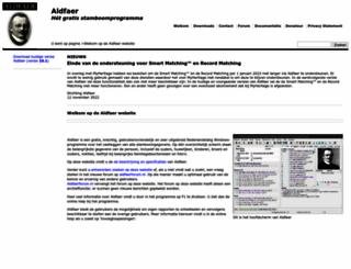 aldfaer.nl screenshot