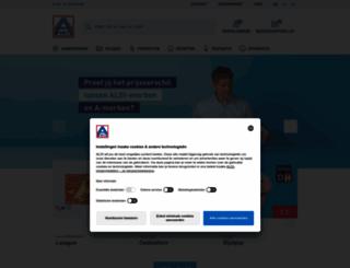 aldi.be screenshot