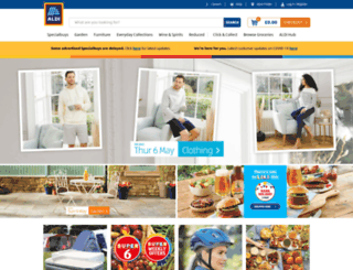 aldi.co.uk screenshot