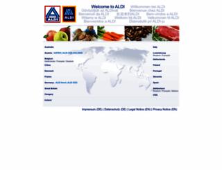 aldi.com screenshot