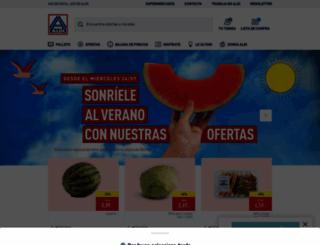 aldi.es screenshot